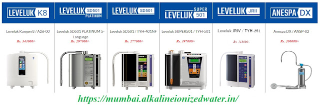 Kangen Water Machine Prices in Mumbai