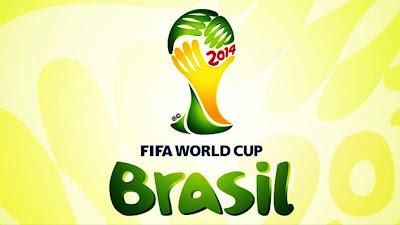 A imagem mostra o post oficia da FIFA para a copa de 2014 no Brasil.