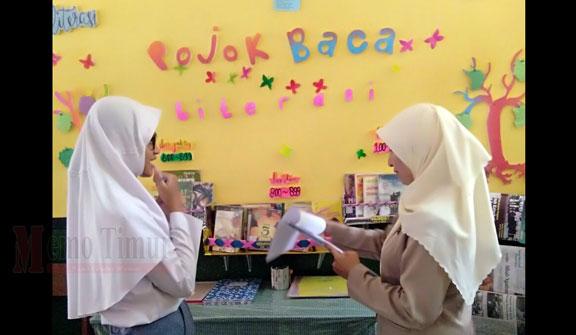 Kearsipan dan Perpustakaan Kabupaten Lumajang melakukan pembinaan ke sekolah