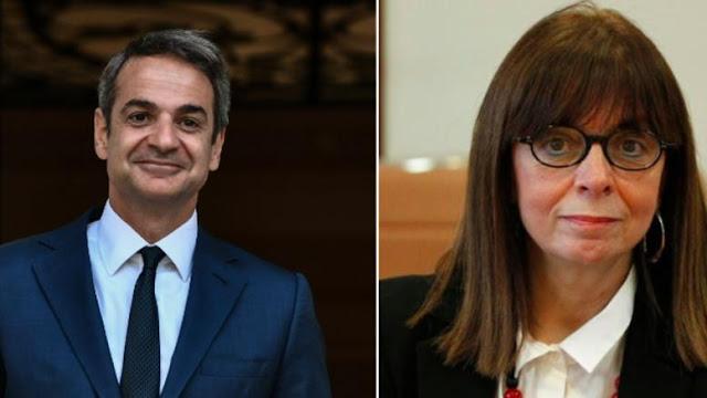 Την Αικατερίνη Σακελλαροπούλου προτεινε ο Κ Μητσοτακης για νέα Πρόεδρος της Δημοκρατίας.