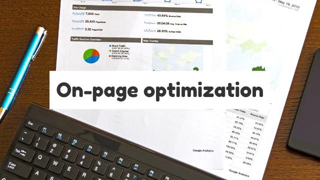 What is On-page optimization and why should do on-page optimization?