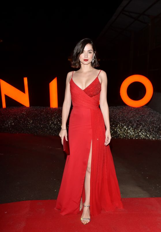 551d07c0eef The Lady In Red Ana de Armas – Campari Red Diaries 2019 Premiere Event in  Milan