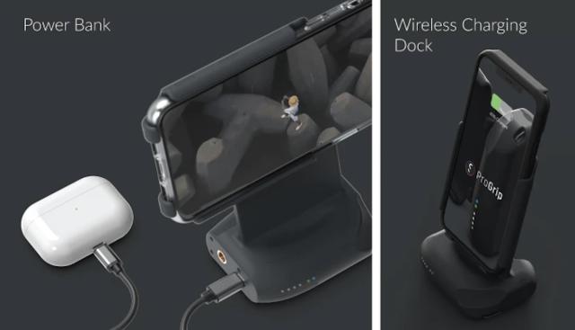 【攝影器材】手機就是專業相機,ShiftCam ProGrip 手機攝影全新體驗 - 能幫其他裝置充電,也是無線充電底座