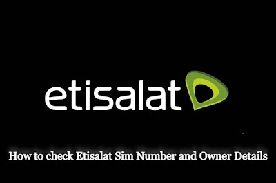 Etisalat Number Check Code