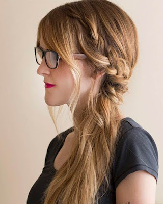 trendy casual hairstyle