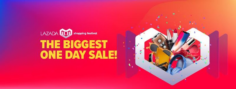 LAZADA 11.11 Shopping Festival - THE BIGGEST ONE DAY SALE is here!