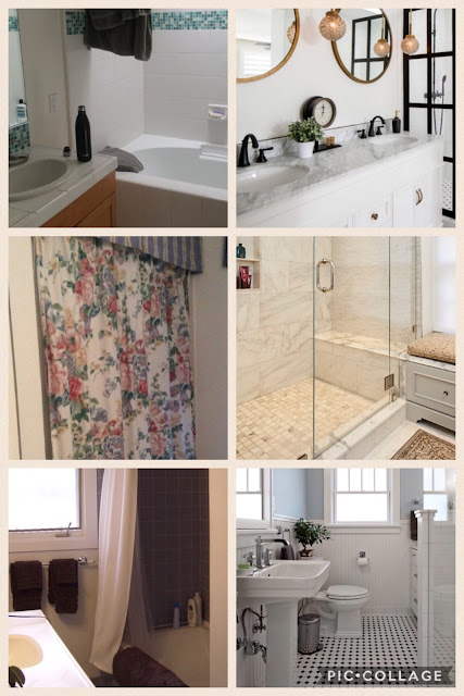HOUZZ Before & After Bathroom Remodels With No Bathtub