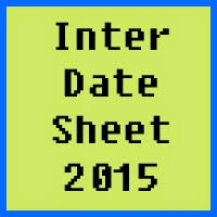 Inter date sheet 2017 of all Pakistan bise boards, Part 1 and Part 2