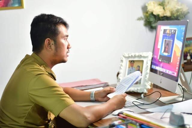 Jadi Pembicara di Webiner Pendidikan Kabupaten Kulon, Bupati ASA Sampaikan Ini