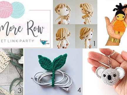 One More Row - Free Crochet Link Party 22