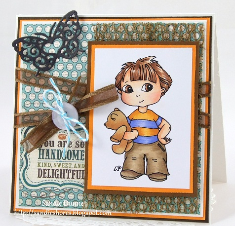 The paper cove little darlings rubber stamps challenge for Four man rubber life craft