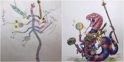 Animator Ini Ubah Gambar Anak Jadi 10 Karakter Super Keren