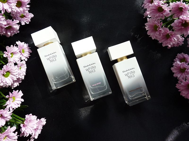 Elizabeth Arden White tea Wild rose Vanilla Orchid