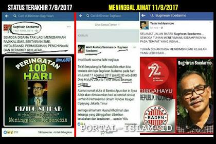 """Setelah Sebelumnya Upload Peringatan 100 Hari Mirip Kenduri, SATU Lagi """"Korban"""" Mubahalah Habib Rizieq Meninggal Dunia"""