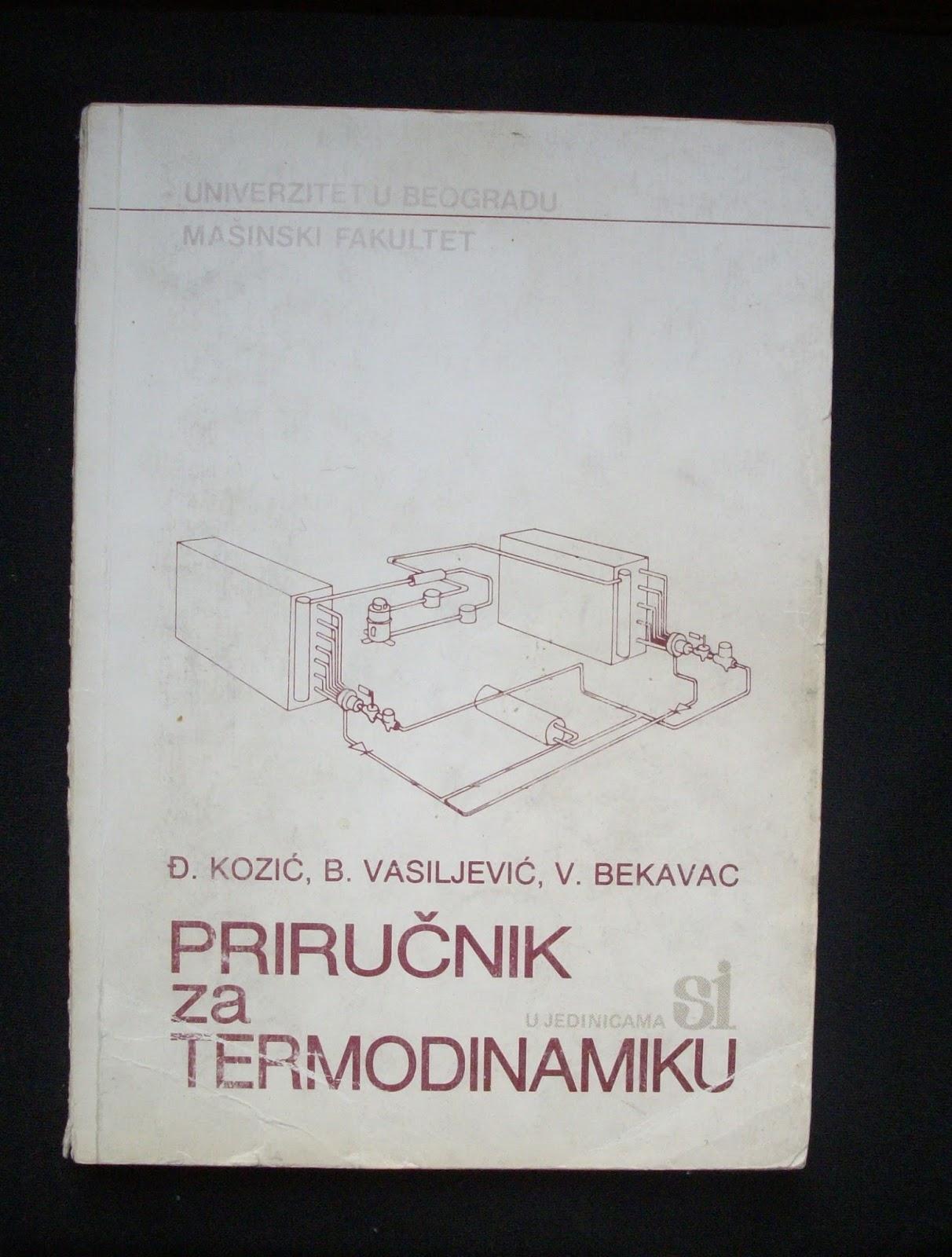 PRIRUCNIK ZA TERMODINAMIKU EPUB
