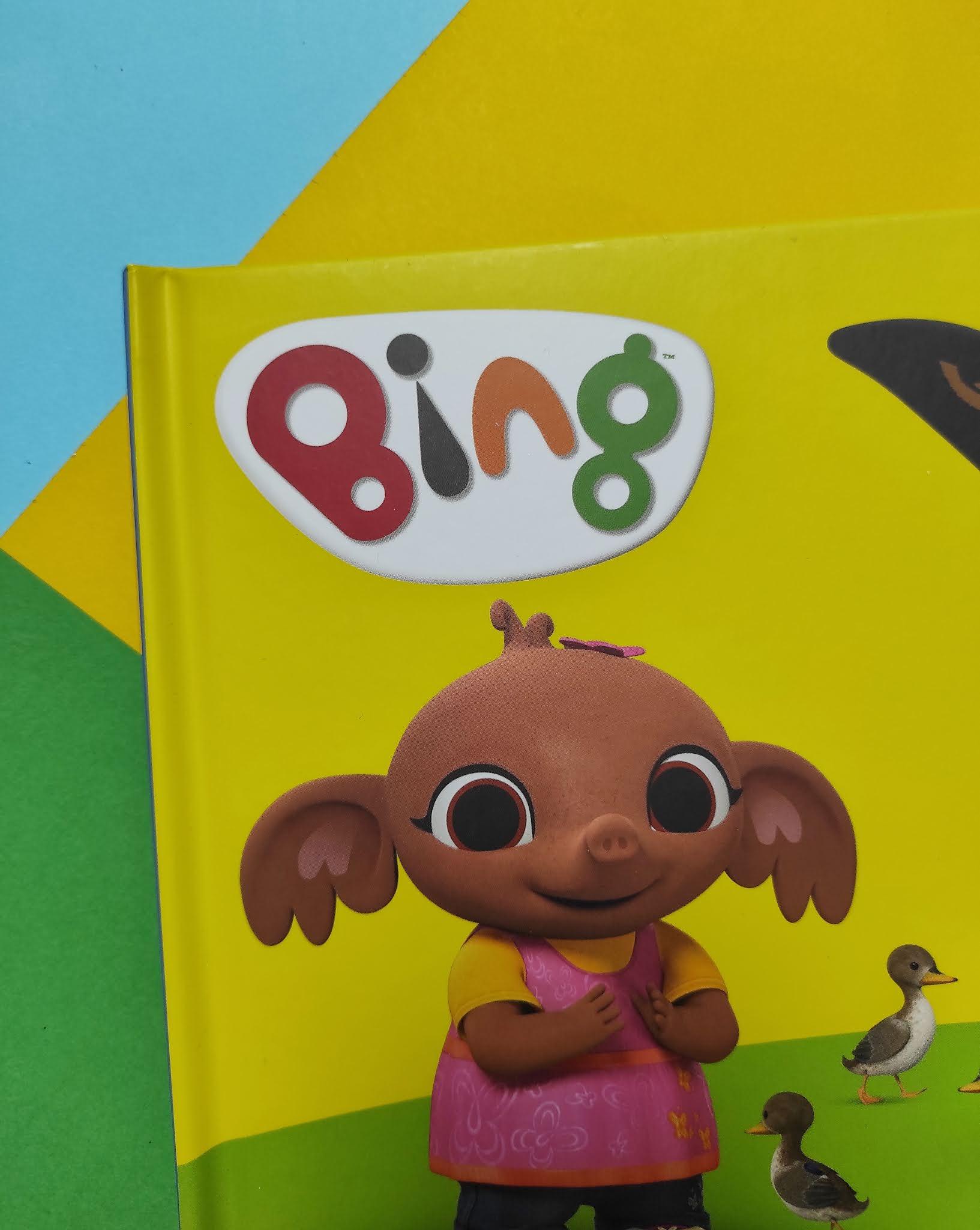 Bing. Zabawa w parku. Książeczka z magnesami