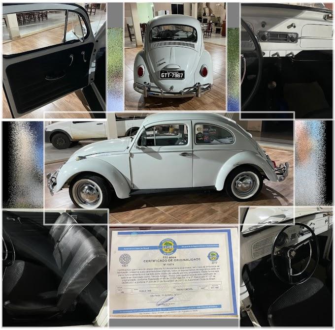 ★ FUSCA 1967 - Oportunidade de Negócio, carro com certificado de originalidade, estilo colecionador.