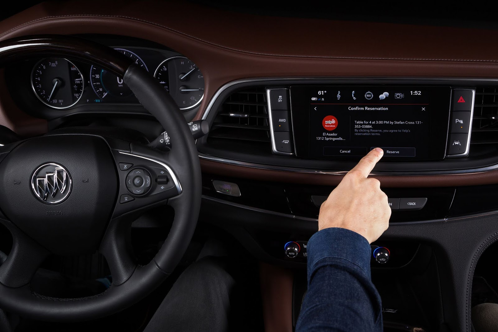 Buick adds Yelp for on-the-go reservations