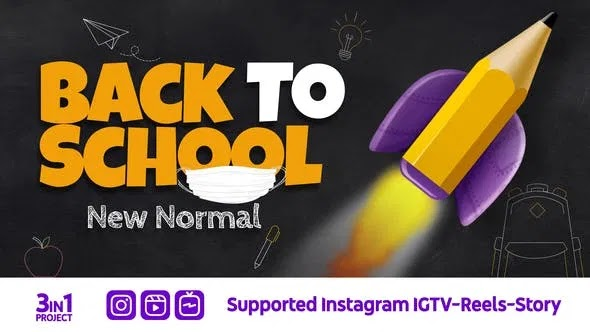 Videohive Back To School New Normal 28320764