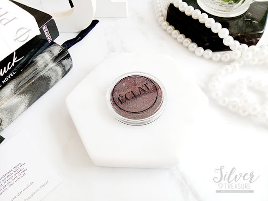 ÉCLAT Pressed Glitter Eyeshadow - Bourbon*