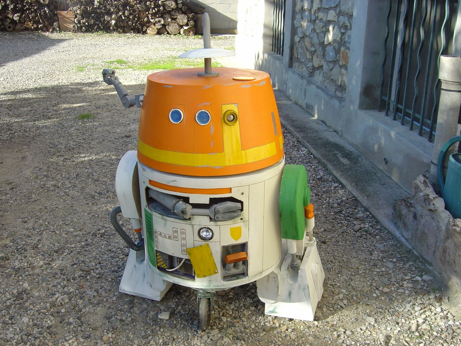droide star wars chopper