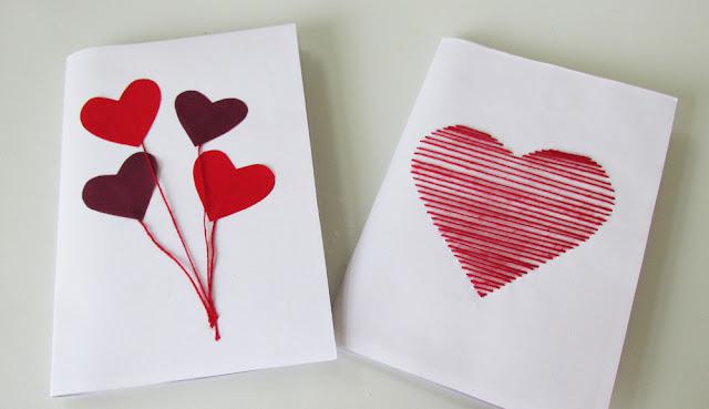 DIY: Ideias de Cartões de Dia dos Namorados - Criativo e Barato!
