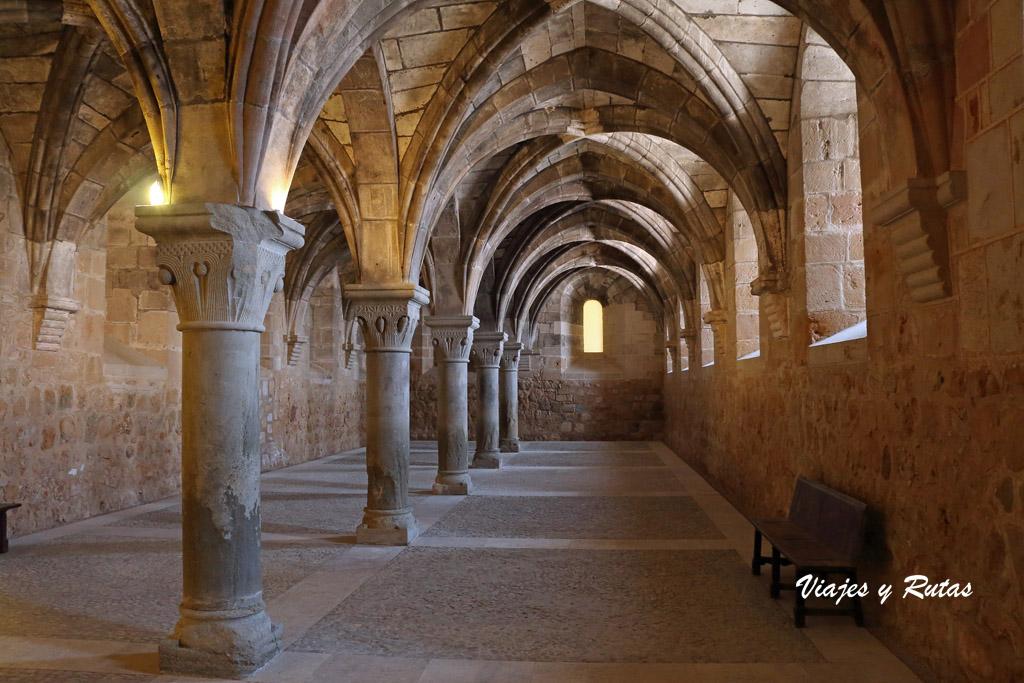 Refectorio de los Conversos, Sta María de la Huerta