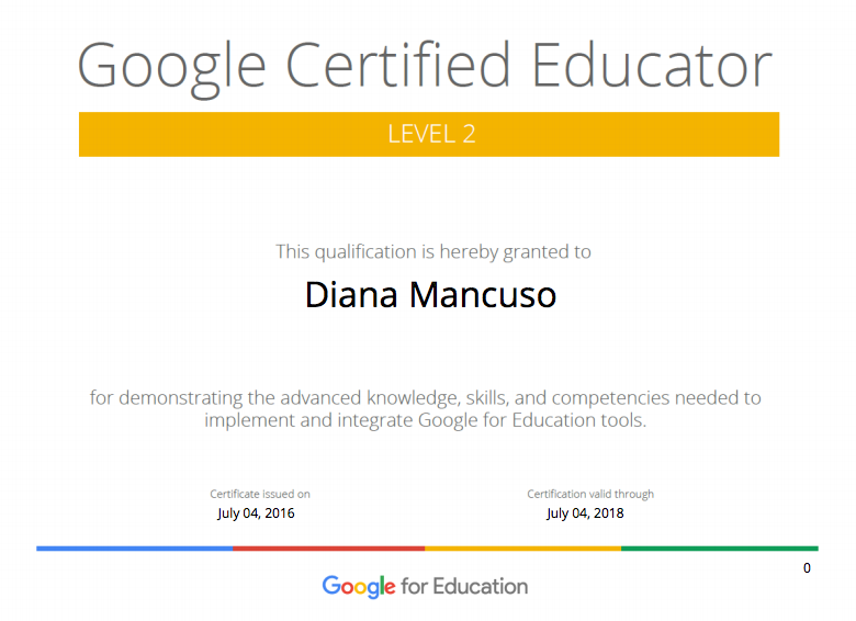 I\'m a Google Certified Educator: Level 2! | Toronto Teacher Mom