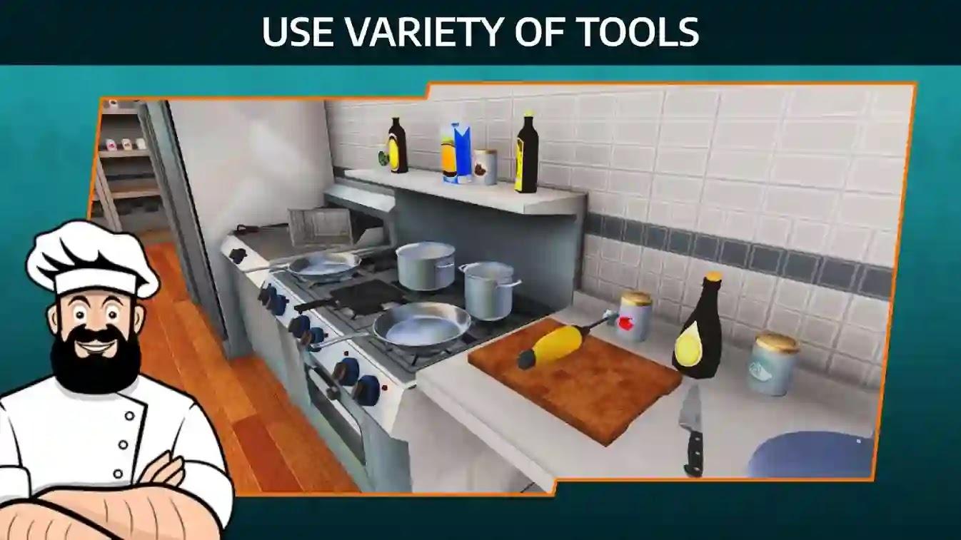 إذا كنت من محبي ألعاب الطهي ، فالرجاء عدم تفويت Cooking Simulator Mobile.سيجعل حلمك في أن تصبح طاهياً موهوباً حقيقة.