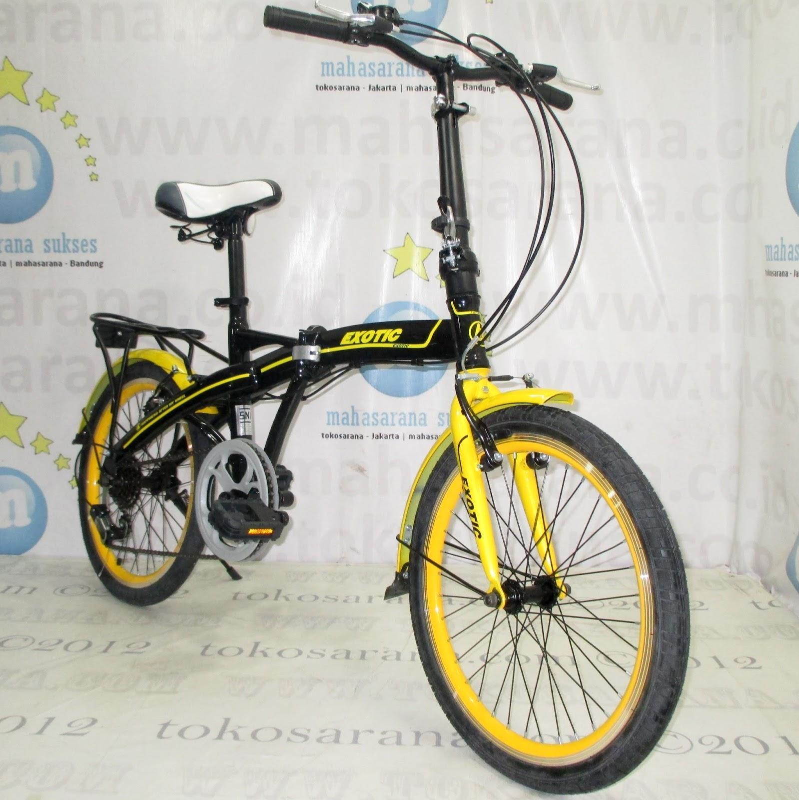 tokosarana™ Mahasarana Sukses™ Sepeda Lipat Exotic ET20