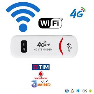 chiavetta usb 4g lte wifi