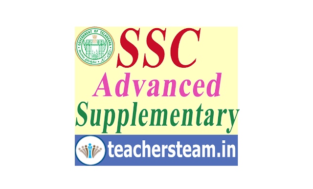 TS SSC/10th Class Advanced Supplementary Results