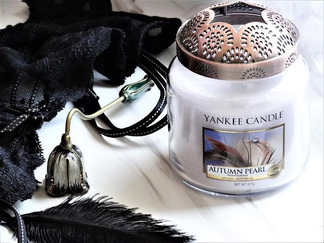avis Autumn Pearl Yankee Candle, bougie autumn pearl yankee candle, perle d'automne yankee candle, autumn pearl yankee candle review, blog bougie, bougie parfumée, candle review, candle blog, avis bougie yankee candle, parfum automne yankee candle