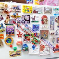 Karet Magnet (Label Karet bermagnet) - Magnet Kulkas Karet / Tempelan kulkas karet - dengan magnet lempengan
