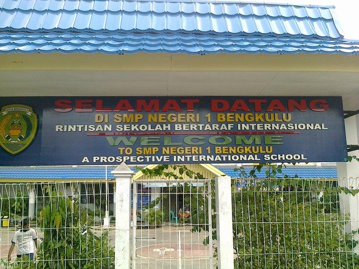 Raanii Ramadhanuutt Blog's: SMPN 1 Kota Bengkulu