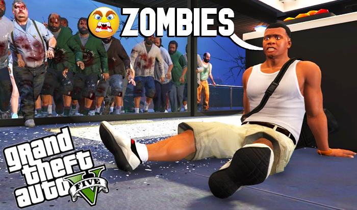 GTA V Zombies Mod Download 2021   GTA 5 Mods
