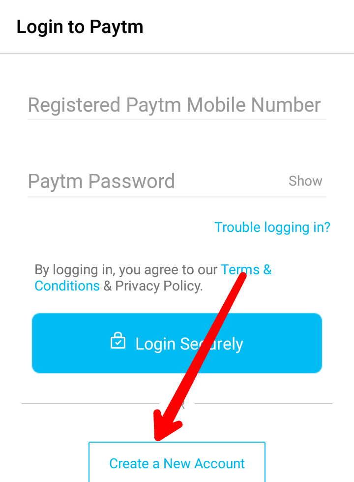 Mobile se Paytm account kaise banaye