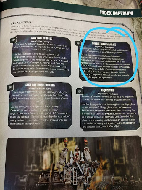 Reglas Inquisición White Dwarf