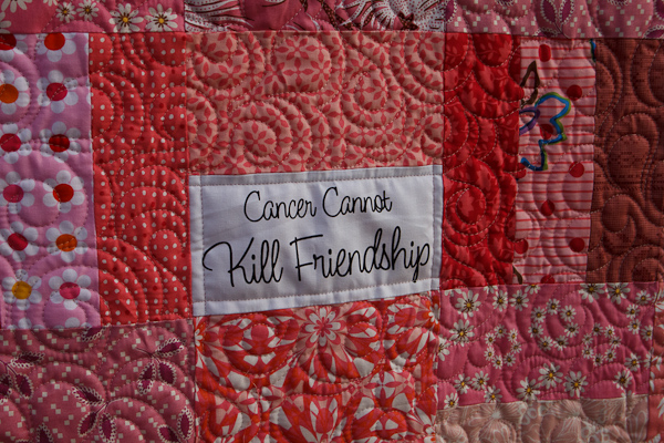 What Cancer Cannot Do Jaybird Quilts
