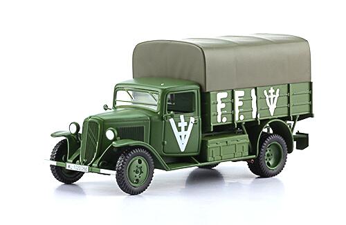 CITROËN TYPE 23 1:43, voitures militaires de la seconde guerre mondiale