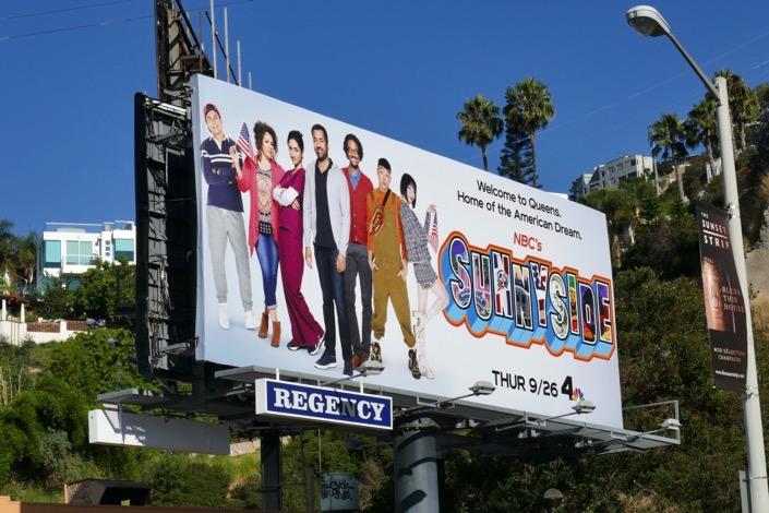 Sunnyside series premiere billboard