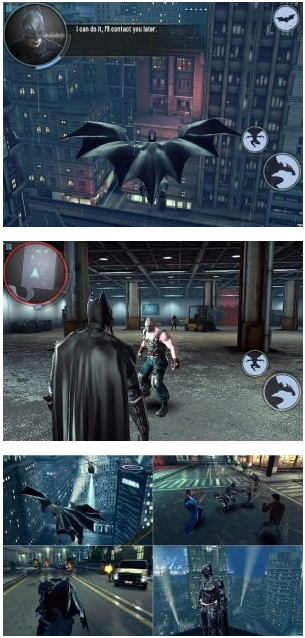 The Dark Knight Rises v1.1.6 Mod Apk Data Offline
