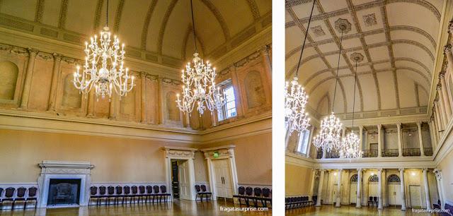 Salão de Chá dos Assembly Rooms de Bath