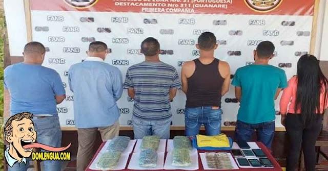 Tres detenidos por llevar un bolso con 3 kilos de Marihuana