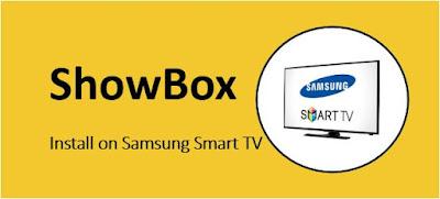 How to Install Showbox for Samsung Smart TV