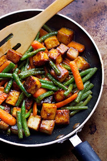 marinated tofu is good for heart