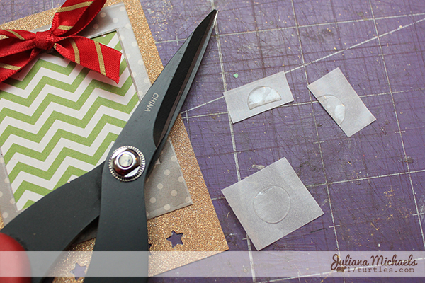 Star Christmas Gift Tags Tutorial 15 by Juliana Michaels