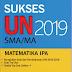 Soal UN SMA 2019 Mata Pelajaran Matematika