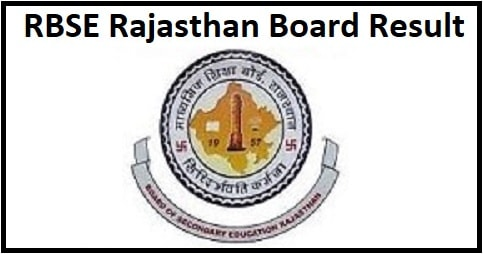RBSE Rajasthan Class 10th Result 2020