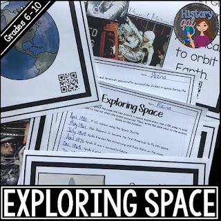 https://www.teacherspayteachers.com/Product/Exploring-Space-Timeline-Activity-610150